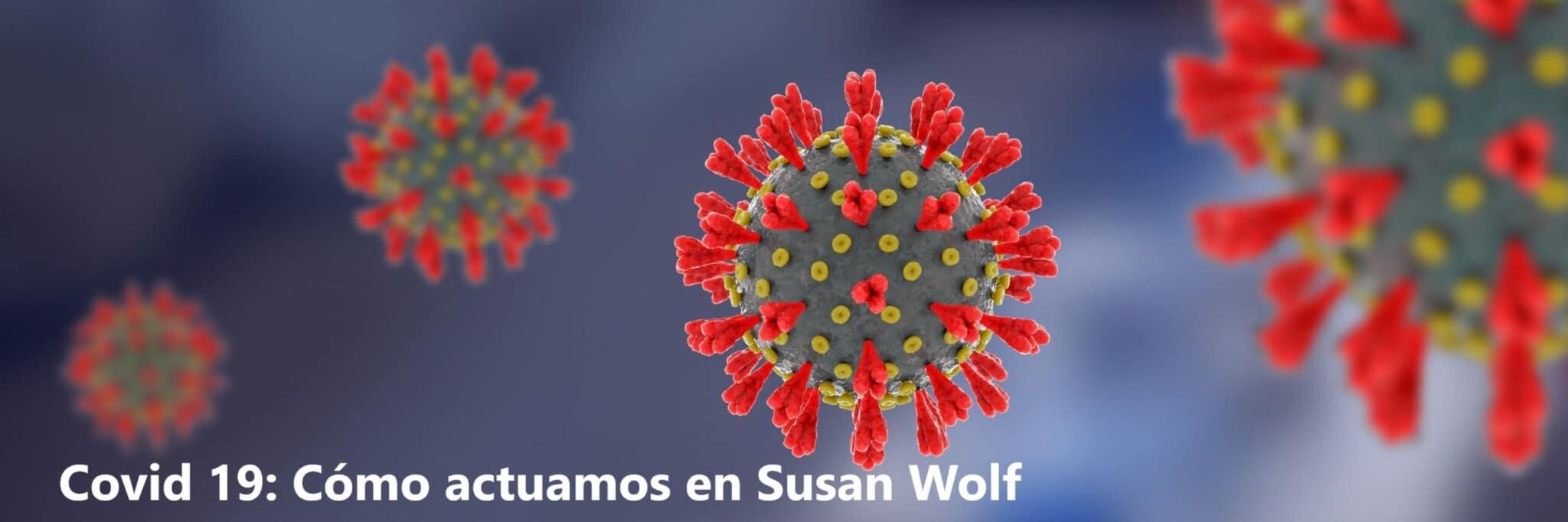 Covid 19 en Susan Wolf